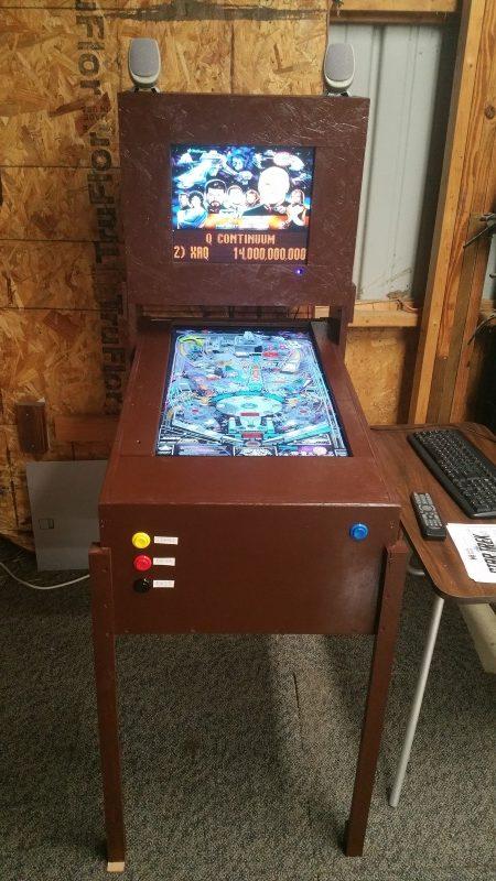 Virtual Pinball Machine | Clayton Felt com